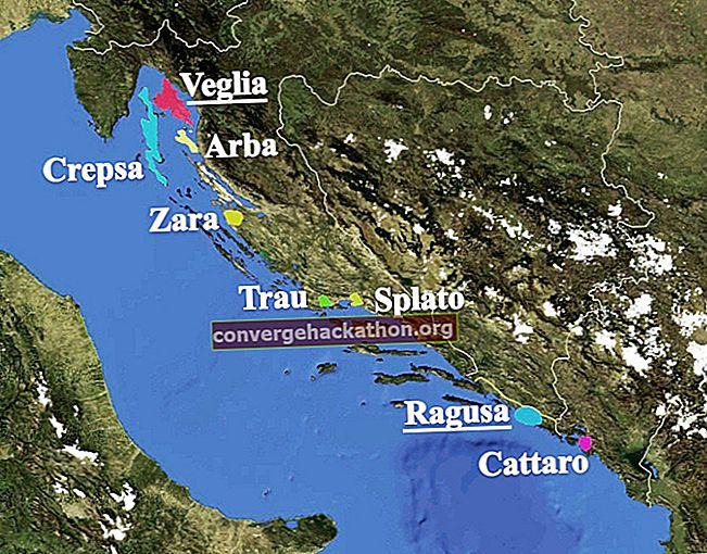 Dalmatiens språk