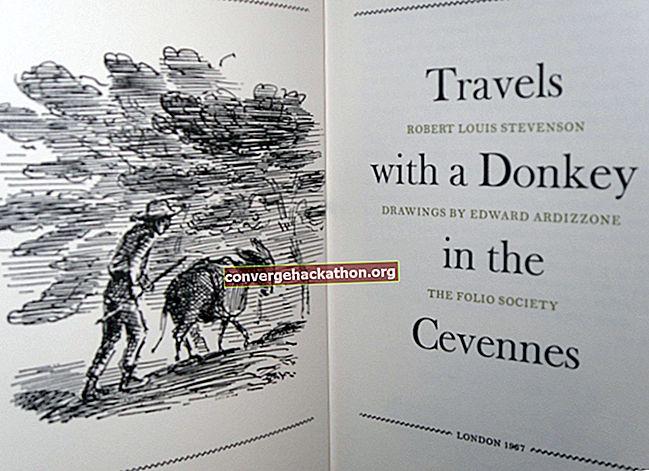 Reser med en åsna i Cévennes