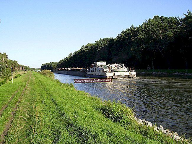 オーデルヘーベル運河