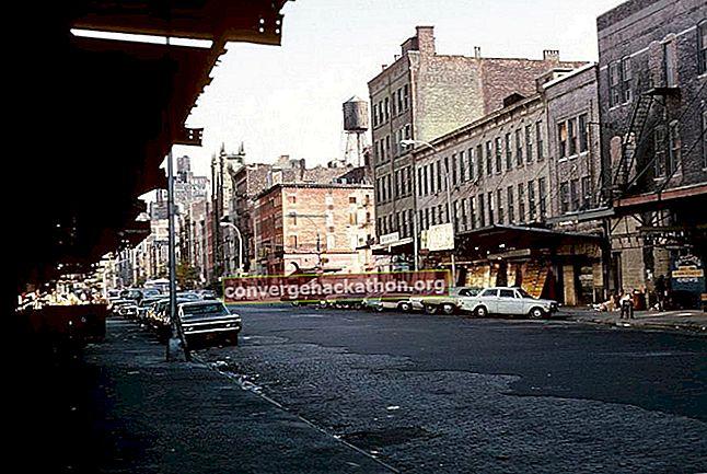 New York City 1970-översikt