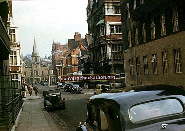 London 1960-tal översikt
